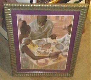 GRACE-By John Holyfield Framed AFRICAN AMERICAN ART PRINT  22x28