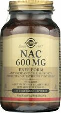 Solgar NAC 600mg 120 Vegetable Capsules