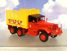 SUPERB DIREKT DIECAST 1/43 CIRQUE PINDER CIRCUS DIAMOND T T968A 6X6 STRAW TRUCK