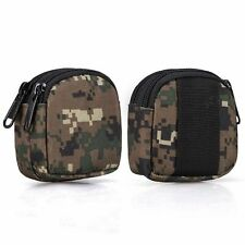 Small Outdoor Pouch,Military Purse Organizer Army Molle Gear(Waterproof)(Du R9O7