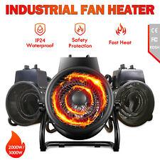 【PRE SALE】Electric Industrial Fan Heater 2000/3000W Fast Heating Warm Air Blower