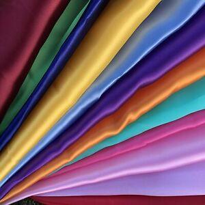 Satin Organza Fabric Sheer Voile Curtain Wedding Sold Per Metre 150cm,70cmWide