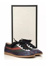 GUCCI Falacer Lurex GG Glitter Vintage Classic Glitter Sneaker Shoes NEW - UK9.5