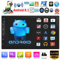 "7"" HD Táctil Pantalla Android 8.1 Coche Estéreo MP5 Reproductor GPS Wifi USB Fm"