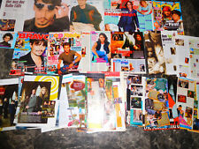 JOHNNY DEPP  705  TEILE / PARTS  3,3  KILO CLIPPINGS LOT    0416