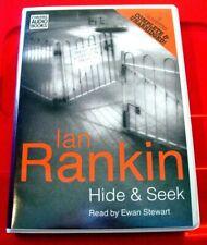 Ian Rankin Hide And Seek Inspector Rebus 8-Tape UNABR Audio Book Ewan Stewart