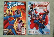 Harley Quinn New 52 9 issue 39 variant lot
