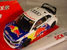 Scalextric SCX Audi S1 WRX #5 Red Bull U10239 MB
