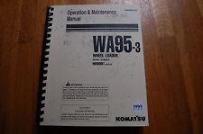 KOMATSU WA95-3 Wheel Loader Owner Operator Operation Maintenance Manual 1999 OEM