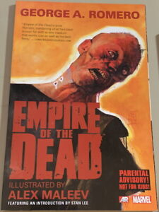 MARVEL Graphic Novel Comics EMPIRE of the DEAD George A. Romero 1st Print 2014