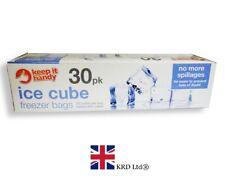 Clear jetables Sac Ice Cube Sacs Réfrigérateur Congélateur Plastique Barbecue party Cubes Maker