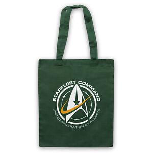 STAR TREK STARFLEET COMMAND UNITED FEDERATION PLANETS TOTE BAG LIFE SHOPPER