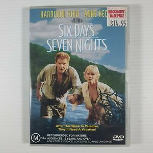 Six Days Seven Nights DVD Region 4 Action Comedy Harrison Ford