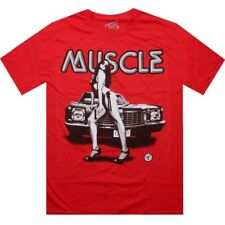 $30.00 Tits Muscle Tee (red) Musclered