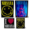 Nirvana Patch Embroidered Patches Logo Muse Foo Fighters Official Kurt Cobain