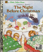 The Night Before Christmas Little Golden Book Kathy Wilburn Clement C Moore