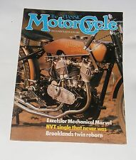 THE CLASSIC MOTOR CYCLE DECEMBER/JANUARY 1982 - G3 MATCHLESS