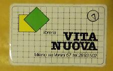 VECCHIO ADESIVO - LIBRERIA VITA NUOVA - ANNI 80 (CC2)