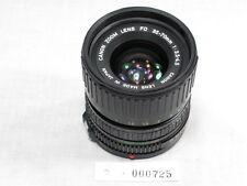 CANON FD ZOOM 35-70mm 3.5-4.5 MACRO GOOD AE-1 PROGRAM /A-1/F1/AT-1... GOOD