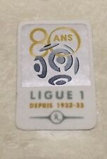 2012-2013 French LIGUE 1 '80 YEARS ANNIVERSARY' Patch Badge Pièce Flicken Toppa