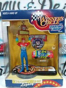 Starting Lineup NASCAR Winner's Circle Jeff Gordon Figure w/Trophy & Car