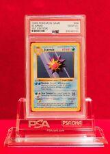 PSA 10 GEM MINT Grey Stamp 1st Edition Shadowless Starmie 64/102 Pokémon Base