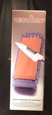 NEW MINOSHARP Professional Knife SHARPENING KIT 1000 Grit Med Waterstone JAPAN