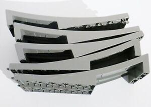Lego Duplo Eisenbahn / 2 Ersatzteile / Eisenbahnbrücke / hellgrau