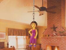 DORA THE EXPLORER Mom Ceiling Fan Pull Light Lamp Chain Decoration K376
