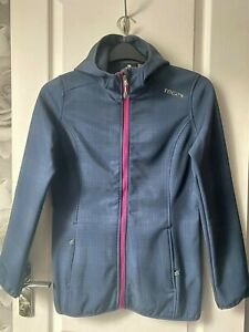 TOG24 ladies soft shell fleece lined jacket, size 8