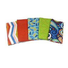Cassovia 5 x Fat Quarters Style B - Fabric Palette - 100% Cotton Modern Abstract