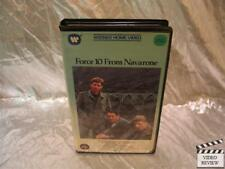 Force 10 From Navarone VHS Robert Shaw Harrison Ford Barbara Bach Large Case