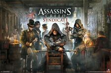ASSASSIN'S CREED SYNDICATE - KEY ART VIDEO GAME POSTER - 22x34 NEW 14307