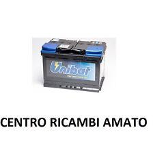 BATTERIA AUTO VEICOLI UNIBAT 80 AH 12V PER NO BOSCH NO FIAMM CITROEN C5 2.0 HDI