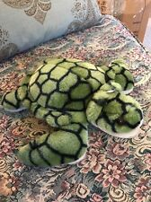 "Yestuffed Toys Korea NICE Green SEA TURTLE 12"" Plush Stuffed Animal #B5"