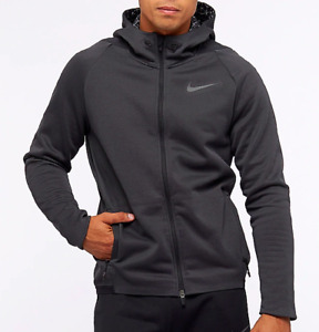 Nike Men's Therma Sphere Training Jacket, 932036-060, Anthracite/Black, Size M