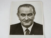 Vintage 1967 President Lyndon B. Johnson Press Photograph
