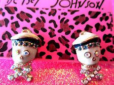 Betsey Johnson Sailor Stud Earrings