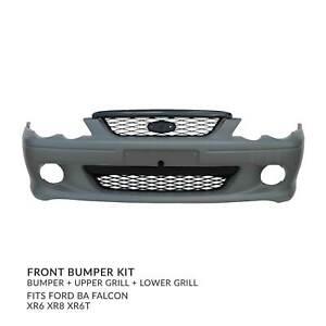 Front Bumper Bar + Grilles fits Ford BA Falcon XR6 XR8 XR6T