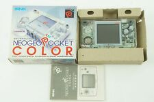 SNK Neogeo Pocket Color Crystal Console  Box From Japan