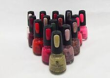 China Glaze Nail Polish Choose Assorted Colors A - Z ~ Pick 4 Colors ~ .5oz/14mL