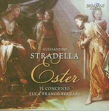 LUCA FRANCO IL CONCENTO/FERRARI - STRADELLA: ESTER  CD NEUF STRADELLA,ALESSANDRO