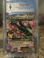 Pokémon Celebrations 25th Anniversary M Rayquaza EX CGC 9 (PSA 9) Early Release