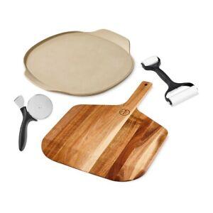 Pampered Chef ® Pizza Set Teigroller Pizzaschneider Pizzazauberer Neu OVP