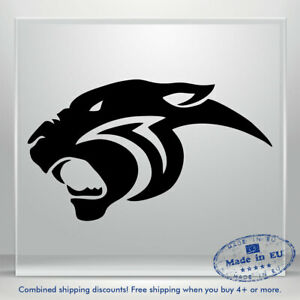 Jaguar Panther Tiger Lion Auto Car Bumper Window Vinyl Decal Sticker Truck Decal