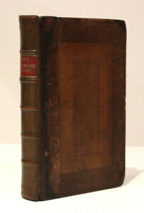 Bede: Ecclesiastical History of the English Nation + Life of Author/1723/Leather