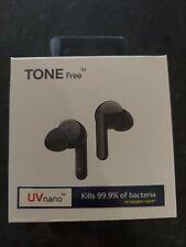 Lg Tone Free Hbs-Fn6 Wireless In-Ear Headset - w/ Uvnano Case