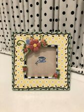 Mary Engelbreit Ceramic Picture Frame Michel 1998 *Perfect*