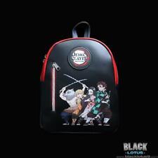 NEW Demon Slayer Kimetsu No Yaiba Group Mini Backpack Tanjiro Nezuko Inosuke