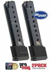 2PACK PROMAG SIG SAUER P220 .45Acp 10 rd Extended Magazine Clip SIG09 Mags NEW